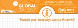 Global Talent program internacionalnih stru�nih praksi